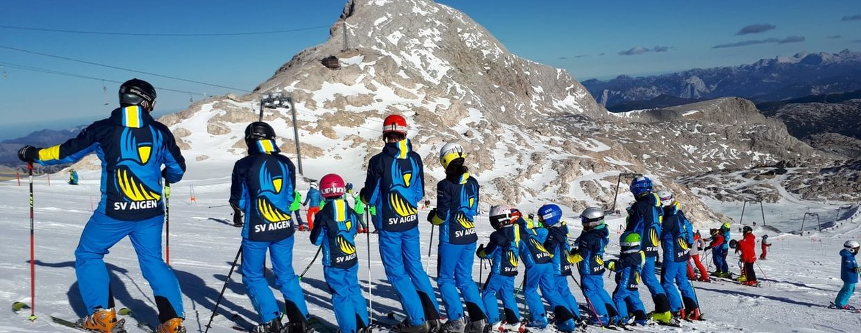 Trainingslager der Ski-kids Aigen