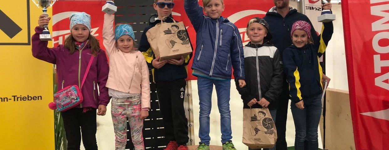 Aigner Ski-kids mit Top Leistungen im Skibezirk 2/3